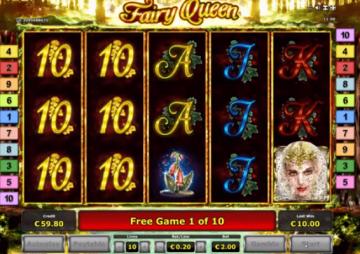 Jugando a Fairy Queen