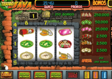 Slot El Tesoro de Java